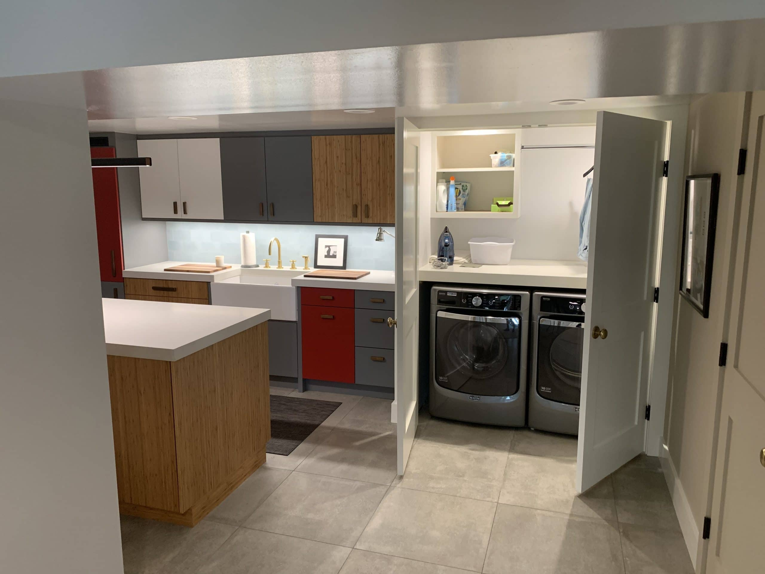 Basement Kitchen Remodel