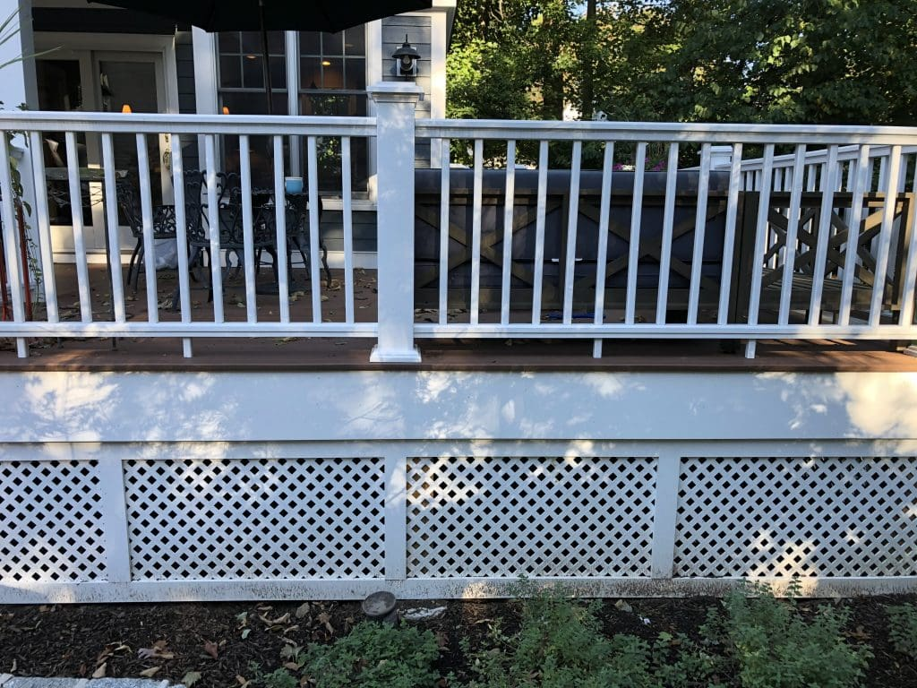 privacy decking in berkley heights