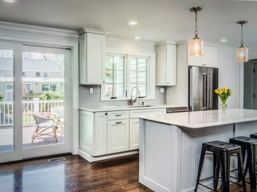 white kitchen remodeling Madison