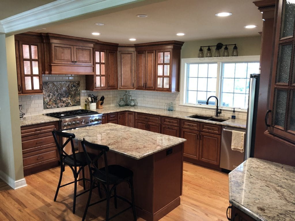 kitchen with grey marble remodeling chatham