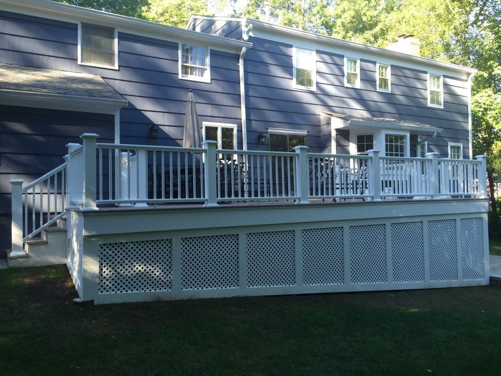 privacy deck remodeling in chatham