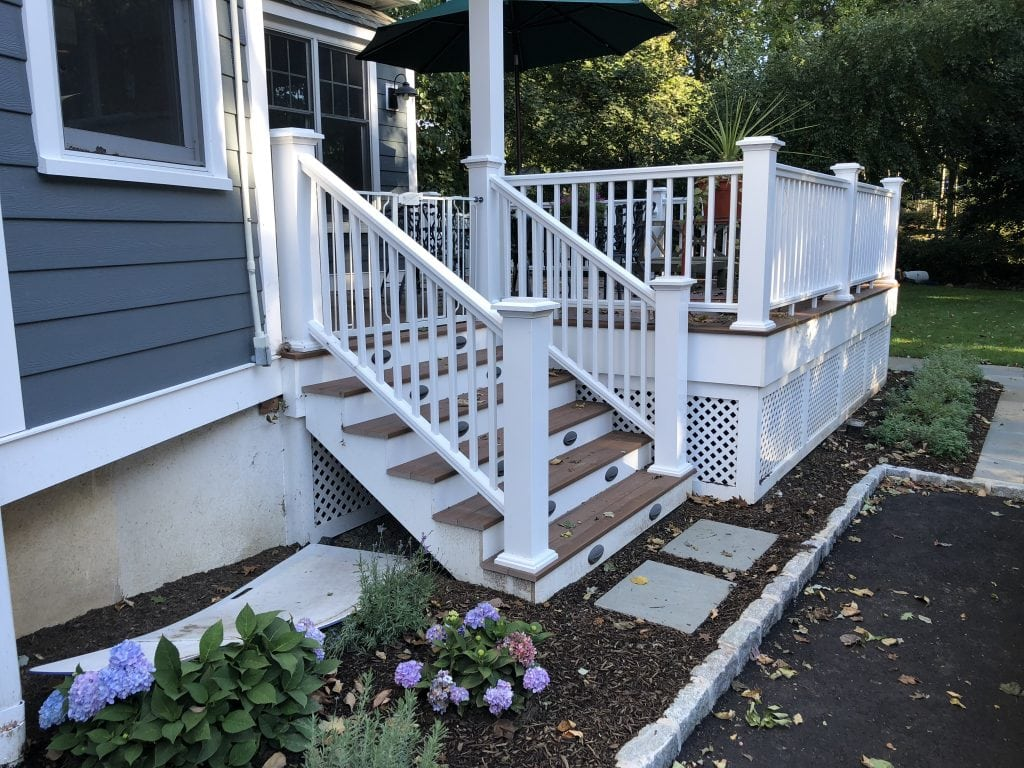 privacy deck remodeling